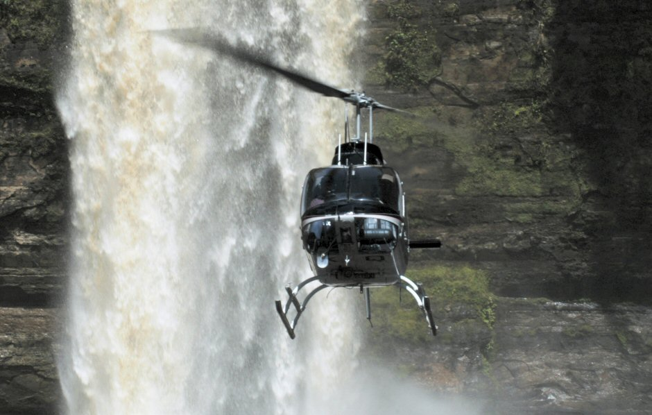 Jurassic Waterfall Adventure Tour - Helicopter Flight