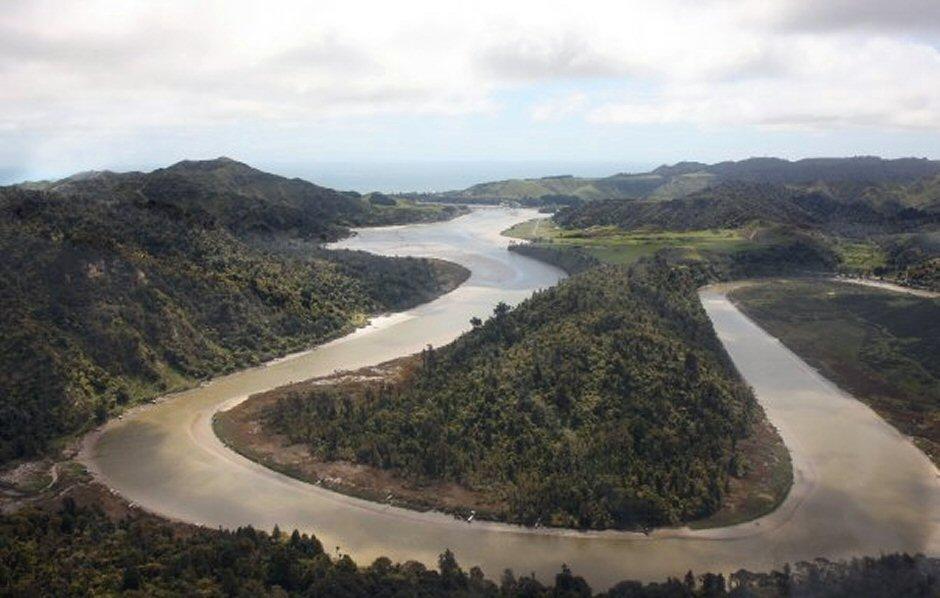 Mokau River Tour - Helicopter Flight