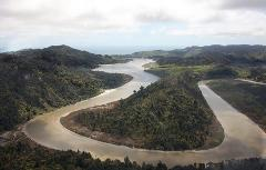 Mokau River Tour - Helicopter Flight