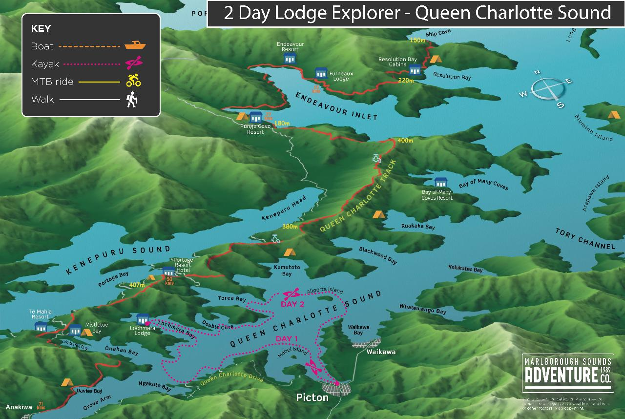 New - 2 Day Explorer - Lodge