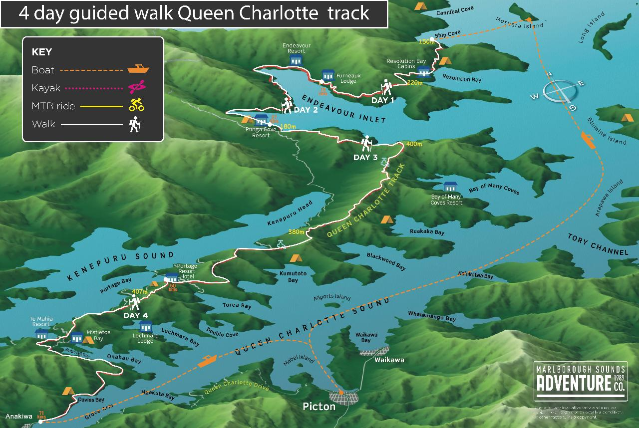 4 Day Guided Walk