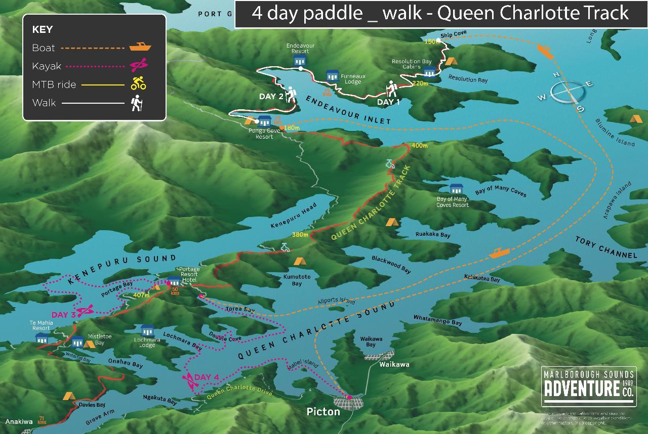 4 Day Paddle & Walk