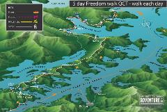 5 Day Freedom Walk - Queen Charlotte Track, 5 days walking