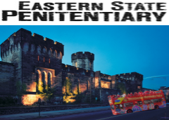 Eastern State Penitentiary Admission with 2-Day Bus Tour Combo