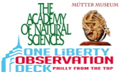 Academy of Natural Sciences, Mütter Museum, & One Liberty Observation Deck Admission with 2 Day Bus Tour Combo