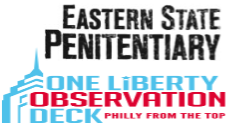 Eastern State Penitentiary & One Liberty Observation Deck Sun & Stars 2 DAY Bus Tour Combo