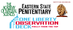 Academy of Natural Sciences, Mütter Museum, One Liberty Observation Deck & Eastern State Penetentiary Admission with 2 Day Bus Tour  Combo