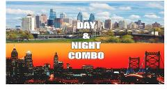 1 Day Bus Tour & Twilight Philly-NIGHT TOUR COMBO