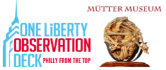 Mütter Museum & One Liberty Observation Deck Admission with 1 Day Bus Tour Combo