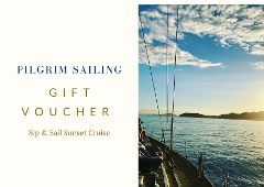Gift Voucher for Sip & Sail Sunset Cruise
