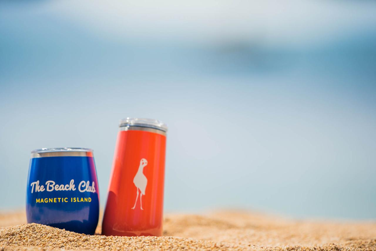 The Beach Club Insulated Glasses