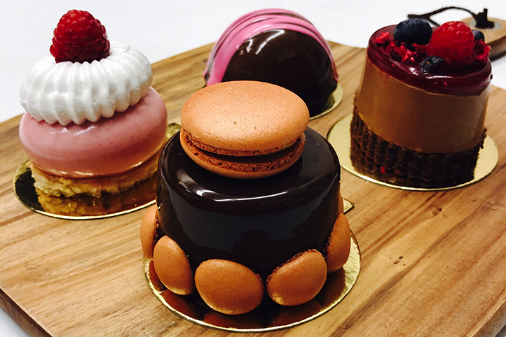 Patisserie Masterclass: Mousse cakes, Caramels, Coulis & Macarons