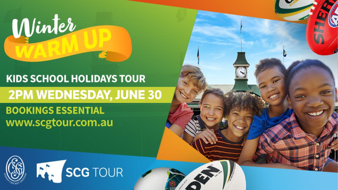SCG Tour - Children's Holiday Tour 90 minute