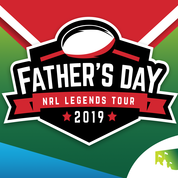 SCG & St George Illawarra Dragons  &  Tigers Father's Day Legends Tour