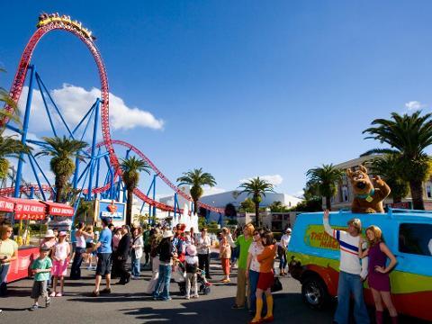 Movie World Theme Park ex Brisbane