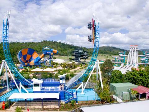 Wet n Wild Theme Park ex Brisbane