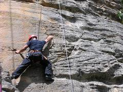 Abseiling and Rock Climbing Combo Day