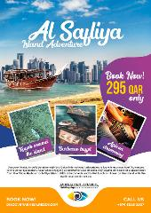 Adventure trip to Al Safliya island