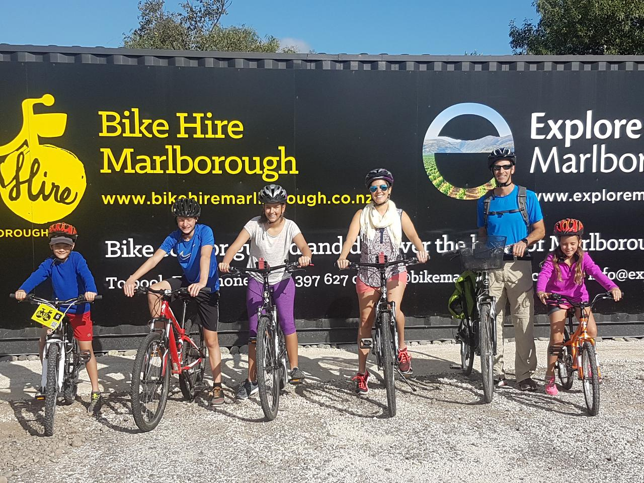 Self Guided Biking Wine Tour - Three Hour hire