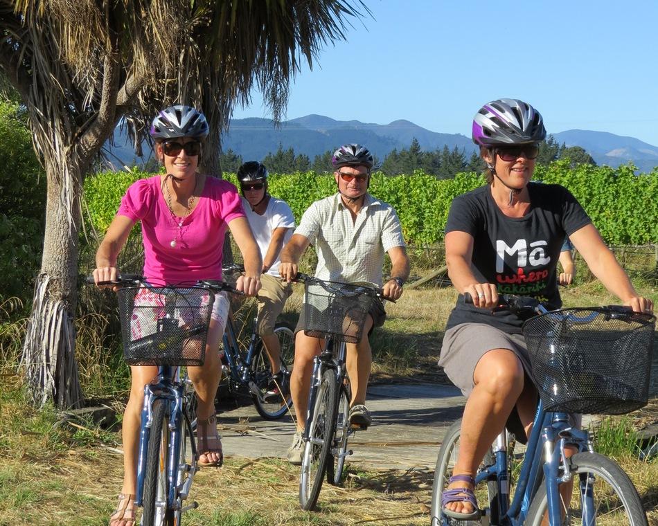 Full Day Guided Biking Wine Tour