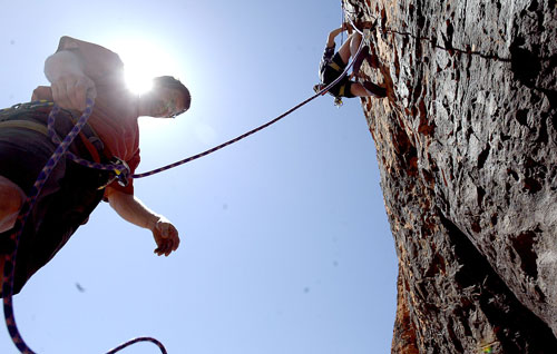 Rock Climbing - How to Lead Climb