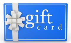 Gift Card- $39.00