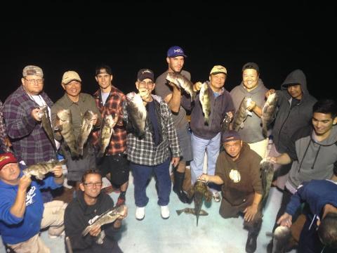 Twilight (Evening) Half Day Fishing Trips