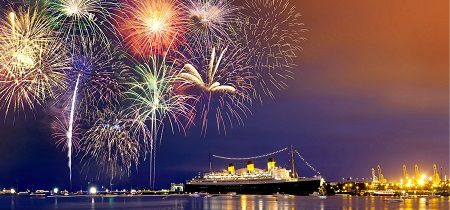 21+ New Year's Eve FIREWORKS Cruise on newest VIP yacht in Southern California