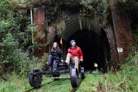 5 Tunnel RailBike Tour