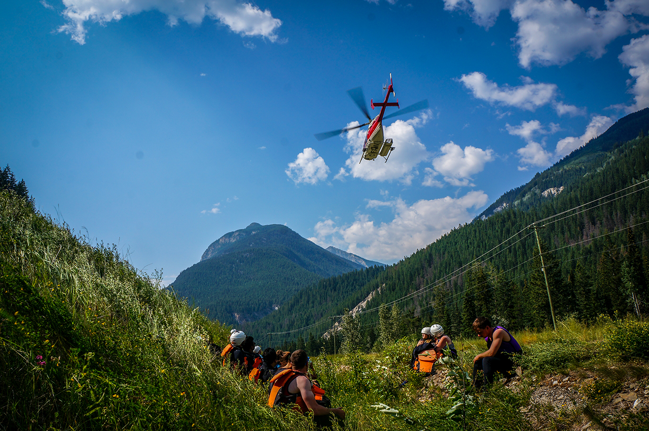 Full Day Heli Rafting - The Ultimate Adventure