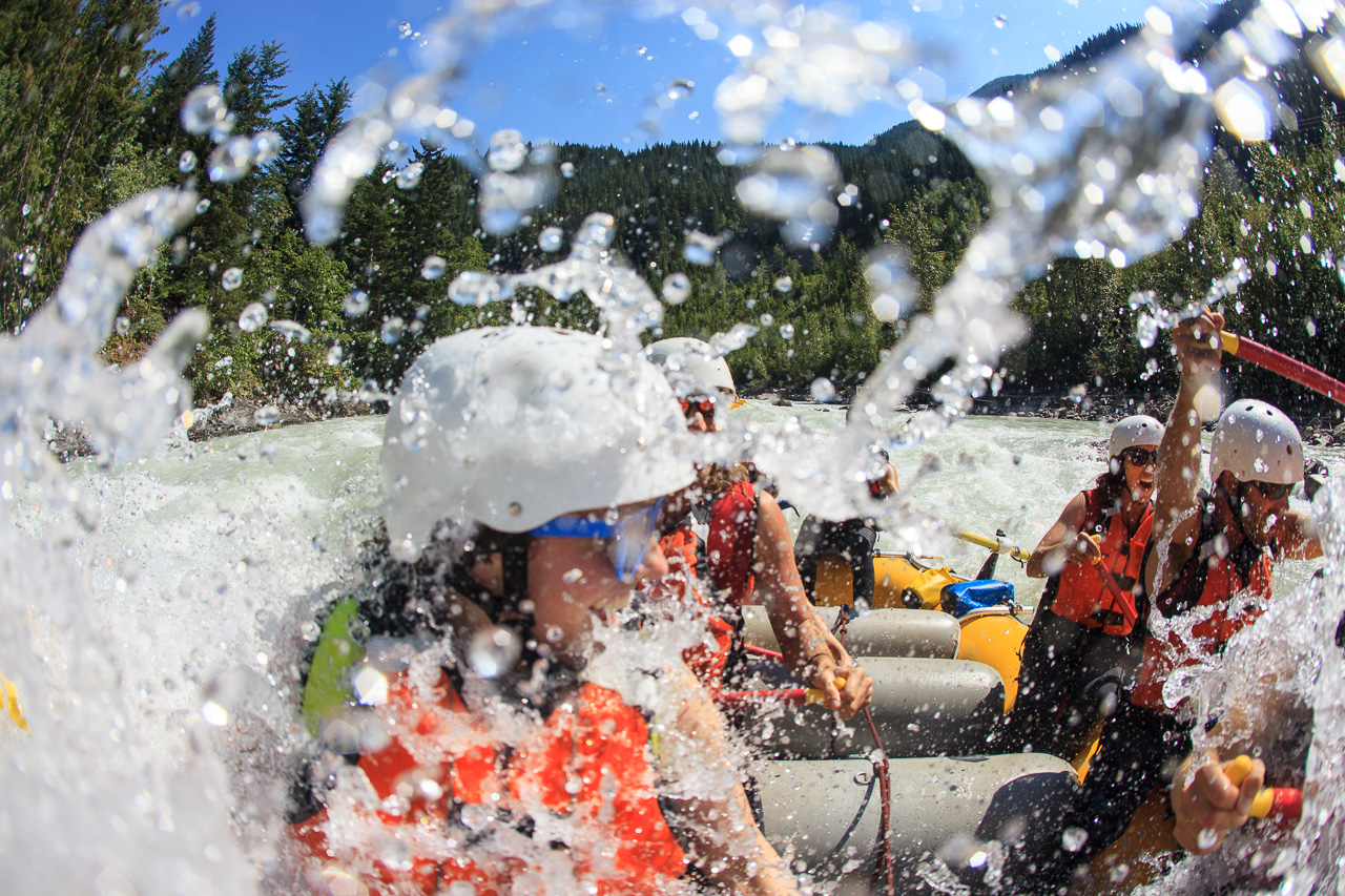 Half Day Rafting - White Water Express