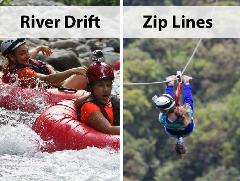 Arenal - COMBO - Sky River Drift & Sky Trek