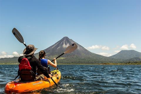 Lake Arenal - Sky Wild Kayaks