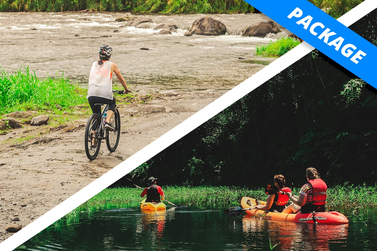 Lake Arenal - COMBO - Sky Wild Kayaks & Bikes