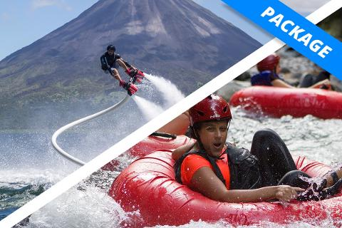 Arenal - COMBO - Sky Board & River Drift