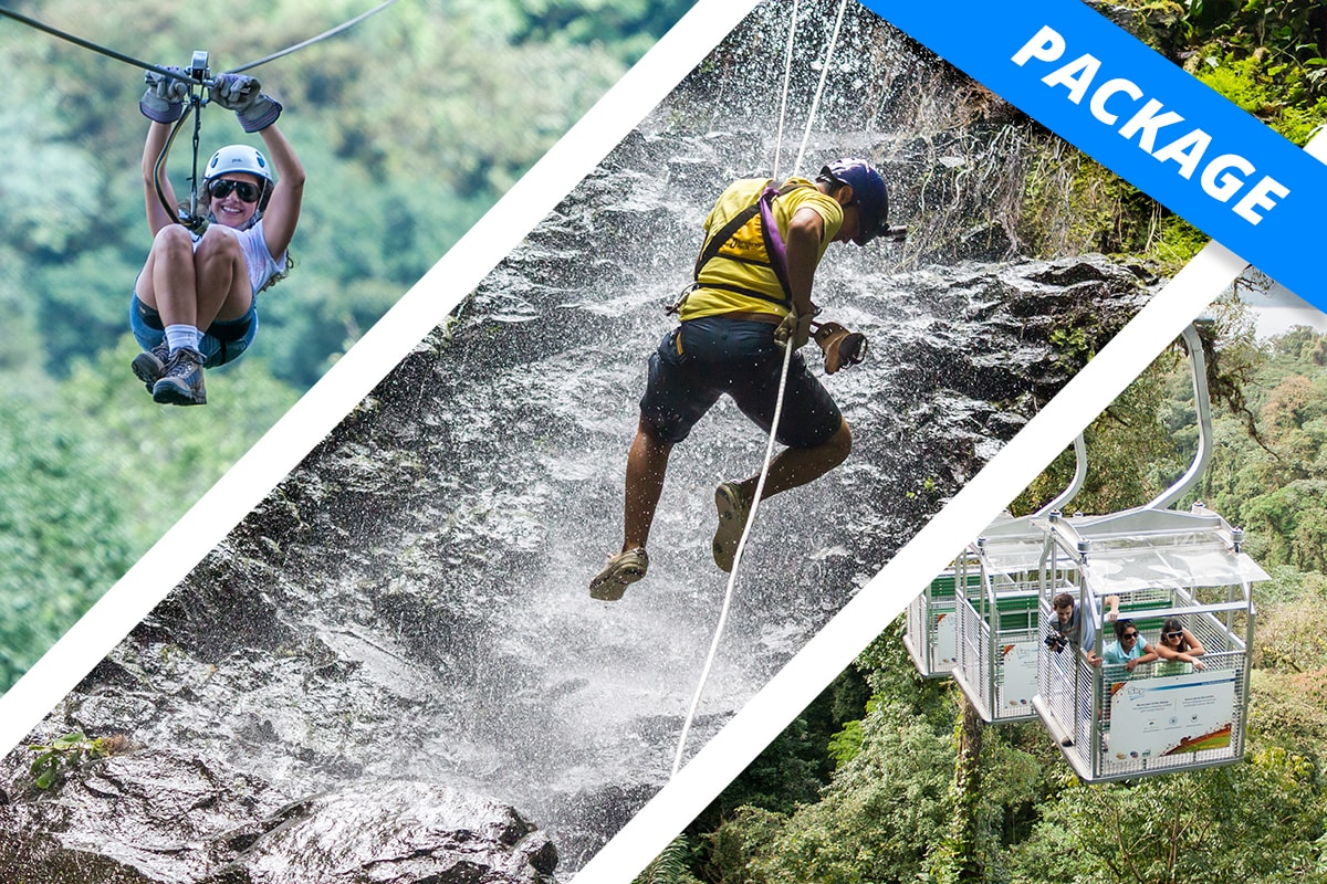Arenal - COMBO - Sky Trek, Tram & Limit