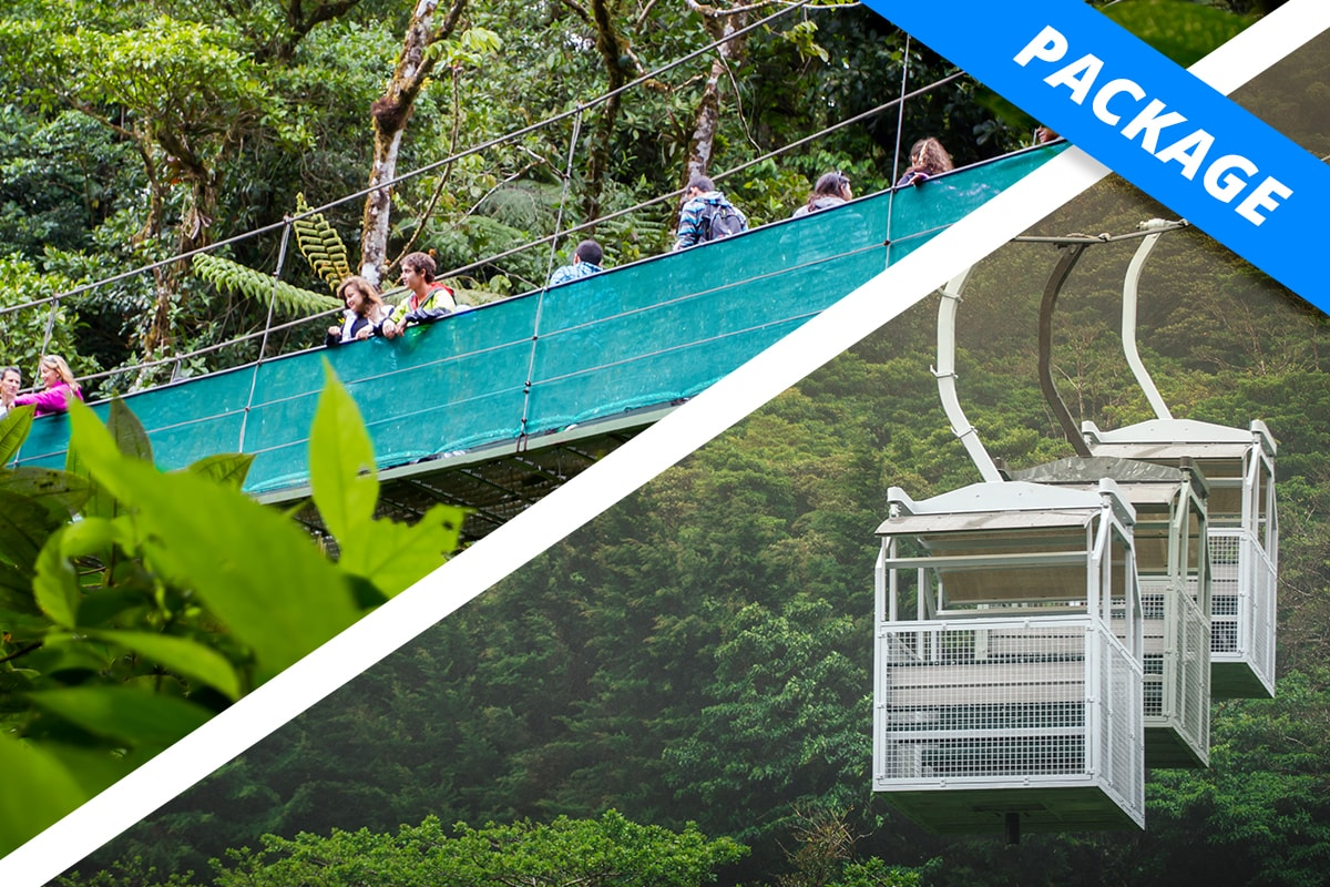 Monteverde - COMBO - Sky Walk & Tram