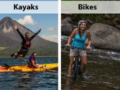 Lake Arenal - COMBO - Kayaks & Biking