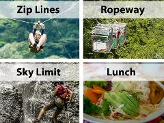 Arenal - COMBO - Sky Trek & Sky Tram & Sky Limit + LUNCH