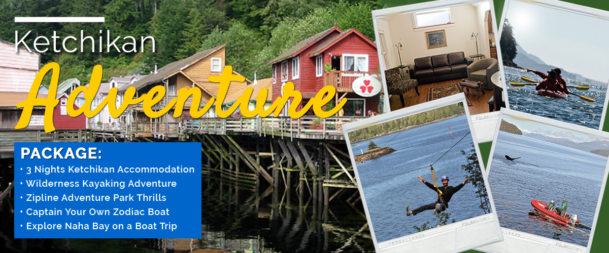 Ketchikan Adventure Vacation Package