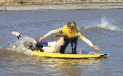 SURF MOBILITY FUNDRAISER  3 DAY FIRST WAVE COURSE