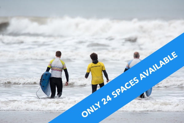 3 DAY FIRST WAVE COURSE  & KEEP THE KIT (14:00 start time)