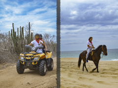 COMBO - ATV & Horseback Riding Tour