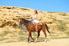 Horseback Riding Beach and Desert Tour