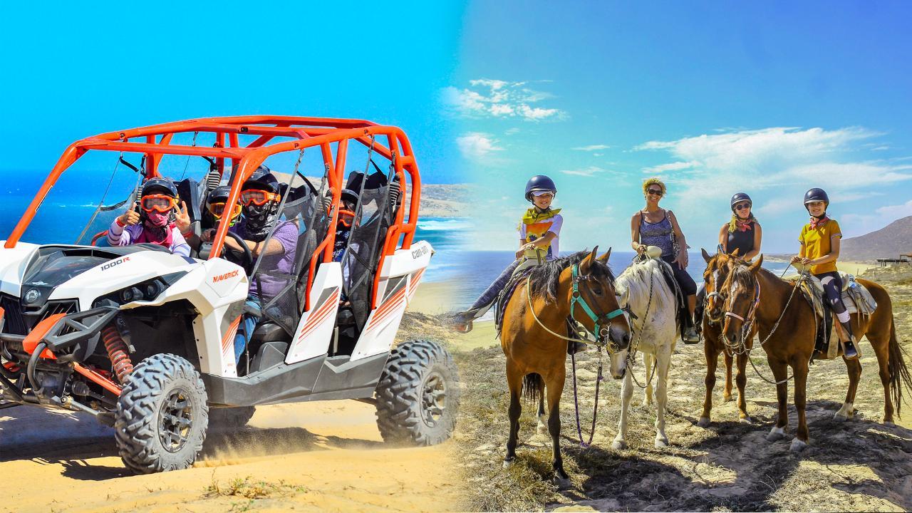 COMBO UTV Tour and Horseback Ride