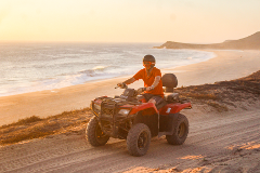 SUNSET ATV Desert and Beach Tour