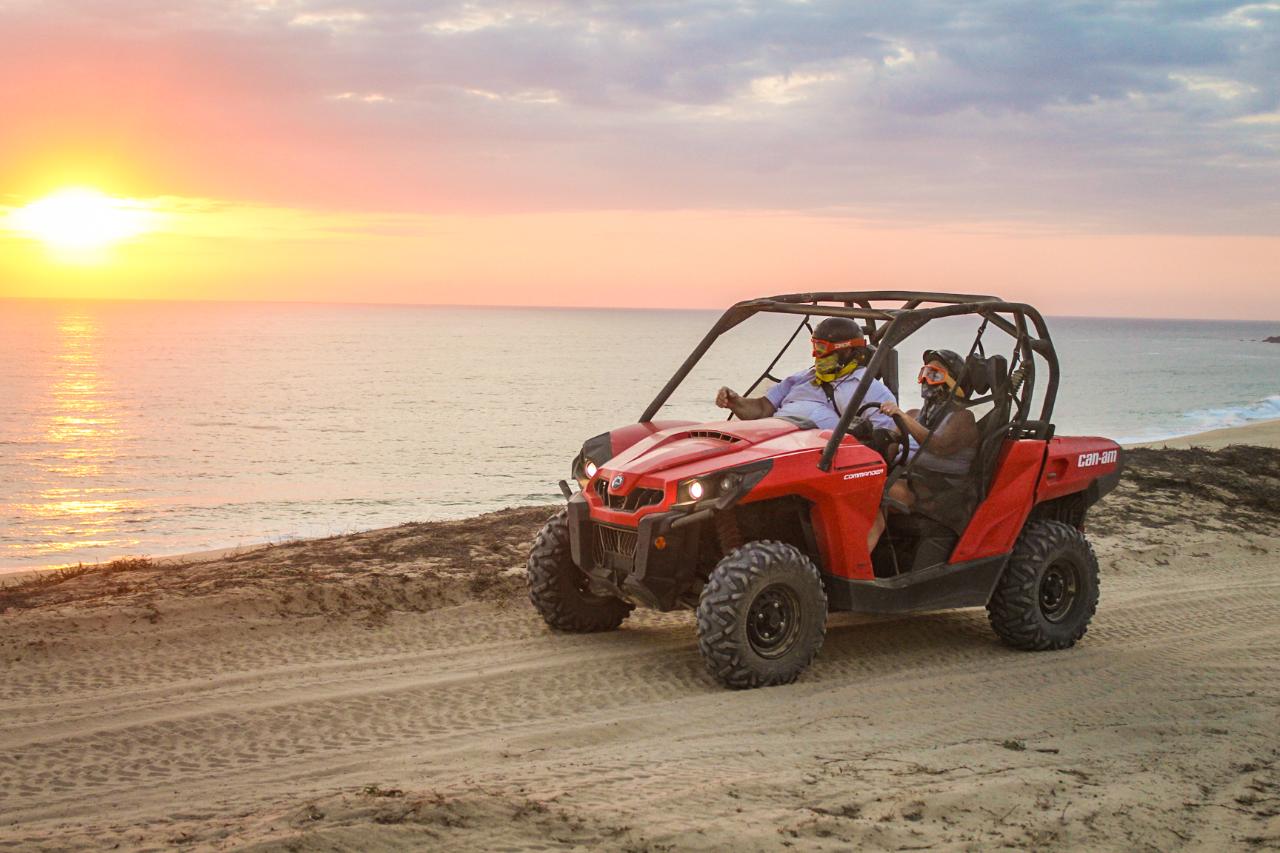 SUNSET UTV Desert and Beach Tour