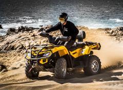 NEW Margaritas ATV Desert and Beach Tour