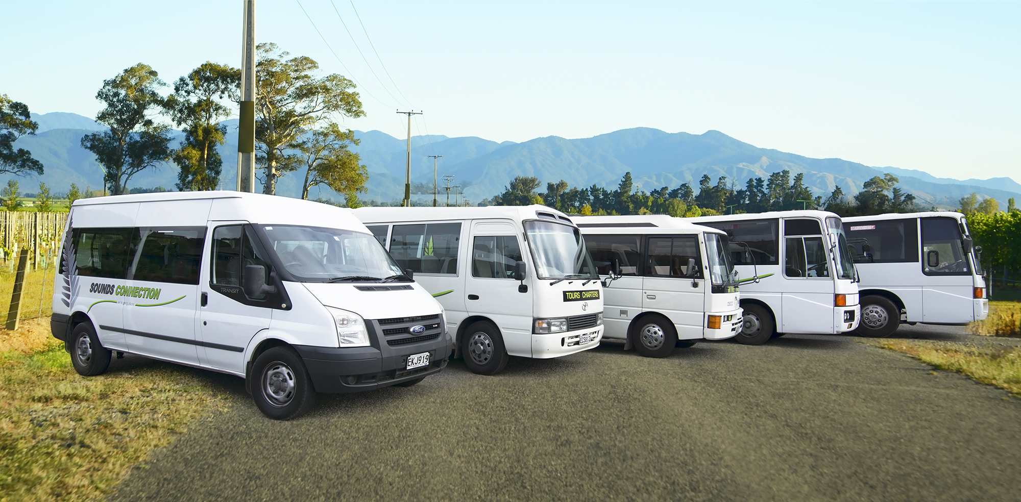 Coach Charter or Transfer - Queen Charlotte Sounds Connection Ltd ...
