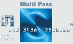 25 Visit Multi Pass - $11.00 per session